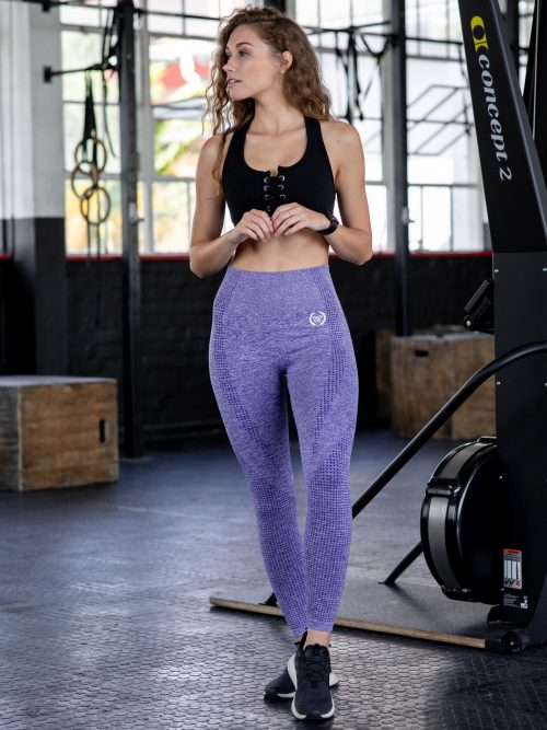 fd68a97698b WILDCAT Seamless Leggings – Frosted Lilac
